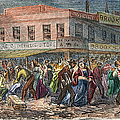 New York: Draft Riots 1863 by Granger