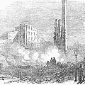 New York: Fire, 1853 by Granger