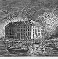 New York: Fire Of 1835 by Granger