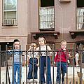New York Kids 1975 by Mark Greenberg