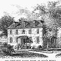 New York Mansion, 1748 by Granger