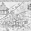 New York Map, 1730 by Granger