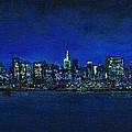 New York New York by Frances Marino