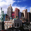 New York New York Hotel by Rachel Duchesne