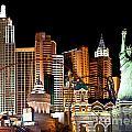 New York New York by Jim Chamberlain