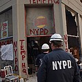 New York Police Department Set by Everett