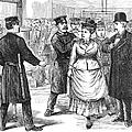 New York Police Raid, 1875 by Granger