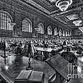 New York Public Library Main Reading Room Vi by Clarence Holmes
