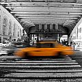 New York Taxi 1 by Andrew Fare