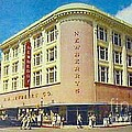 Newberry's Department Store In El Paso Tx In The 1950's by Dwight Goss