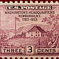 Newburgh Ny Postage Stamp by James Hill