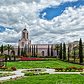 Newport Beach Temple  by La Rae  Roberts