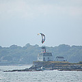 Newport Ri Kitesurfing by Mary McAvoy
