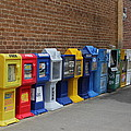 Newspaper Boxes by Bob Whitt
