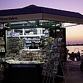 Newsstand In Croatia by Madeline Ellis