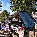 Newstand Along The Seine by Jon Berghoff