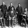 Nez Perce Delegates With Benjamin by Everett