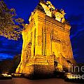 Nhan Tower.  by MotHaiBaPhoto Prints