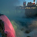 Niagara At Night by Guy Whiteley