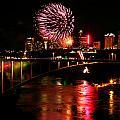 Niagara Falls Fireworks by Mark J Seefeldt