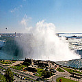 Niagara Falls From Above by Diana Haronis