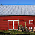 Nice Red Barn by Edward Peterson