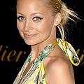 Nicole Richie Wearing A Dries Van Noten by Everett
