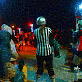 Night At The Roller Derby by Steve Taylor