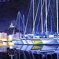Night Harbor by Aaron Memmott