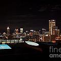 Night Lights Of Atlanta by Carol Groenen