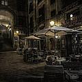 Night Plaza by Torkil Storli