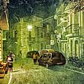 Night Scene In Sicily 2 by Madeline Ellis