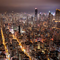 Night View Of Kowloon by Ray Cheung