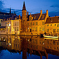 Nighttime Brugge by David Freuthal
