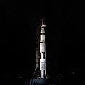 Nighttime View Of The Apollo 10 Space by Stocktrek Images
