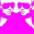 Niki Mirror Pink by Naxart Studio
