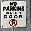 No Parking by Susan Leggett
