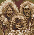 Noatak Family Group by Padre Art