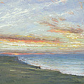 Norfolk Coast by Albert Goodwin