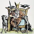 Norse God Odin (woden) by Granger