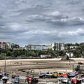 North Beach From Tenby Harbour by Steve Purnell