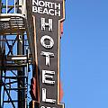 North Beach Hotel San Francisco by Wingsdomain Art and Photography