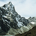 North Face Of Cholatse Peak Towers by Gordon Wiltsie