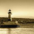North Pier Lighthouse by Bryan Benson