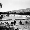 North Pool In 1939 by Munir Alawi