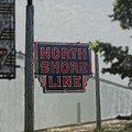 North Shore Line Signage Digital Art by Thomas Woolworth