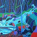 North Woods River 2 by Debra Bretton Robinson
