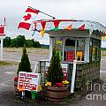 North York Drive-in Box Office by Gary Chapple