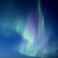 Northern Lights Over Canadian Lake by Mark Duffy