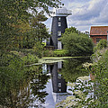 Norton Marsh Mill Norfolk by Dave Godden